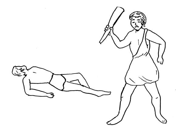 cain and abel coloring pages - photo#47