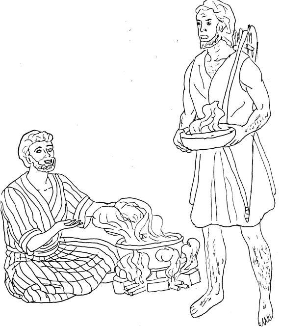esaus birthright coloring pages - photo#8